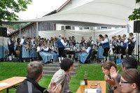 Musikakpelle Seibranz auf dem Sommerfest in Urlau