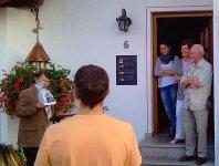2011-08-31 Ständle zur Goldenen Hochzeit der Familie Herberg