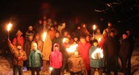 Winterwanderung der Musikkapelle Urlau