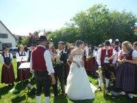 2012-07-07 Hochzeit Claudia und Wolfgang Gambach